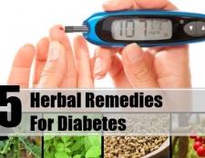 5 meilleurs remèdes pour le diabète