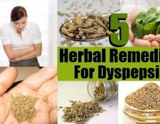 5 meilleurs remèdes pour la dyspepsie