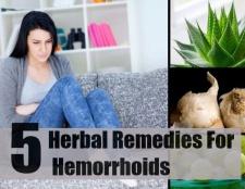 5 meilleurs remèdes à base de plantes pour les hémorroïdes
