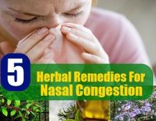 5 meilleurs remèdes pour la congestion nasale