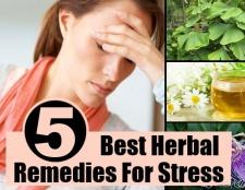5 meilleurs remèdes pour le stress