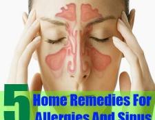 5 meilleurs remèdes maison pour les allergies et sinus