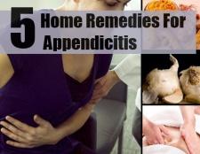 5 meilleurs remèdes maison pour l'appendicite