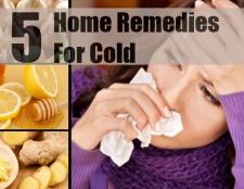 5 meilleurs remèdes maison pour le froid