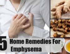 5 meilleurs remèdes maison pour l'emphysème