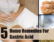 5 meilleurs remèdes maison pour l'acide gastrique