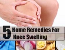 5 meilleurs remèdes maison pour le gonflement du genou