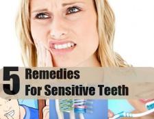 5 meilleurs remèdes maison pour les dents sensibles