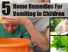 5 meilleurs remèdes maison pour les vomissements chez les enfants
