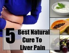 5 Meilleur remède naturel à la douleur du foie