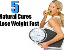5 meilleurs remèdes naturels pour perdre du poids rapidement