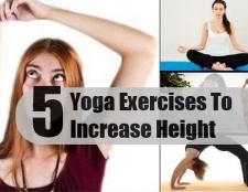 5 meilleurs exercices de yoga pour l'augmentation à hauteur