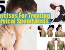 5 exercices efficaces pour le traitement de l'arthrose cervicale