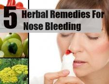 5 remèdes efficaces pour les saignements de nez