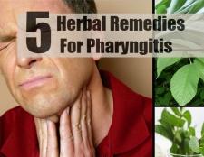 5 remèdes efficaces pour la pharyngite