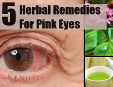 5 remèdes efficaces pour les yeux roses