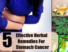 5 remèdes efficaces contre le cancer de l'estomac