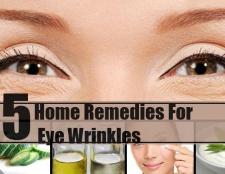 5 remèdes efficaces à domicile pour les rides des yeux
