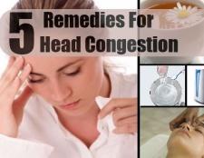 5 remèdes efficaces à domicile pour la congestion de la tête