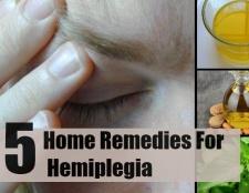 5 remèdes efficaces à domicile pour une hémiplégie
