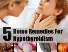 5 remèdes efficaces à domicile pour l'hypothyroïdie