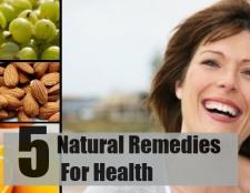 5 remèdes naturels efficaces pour la santé