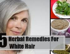 5 remèdes excellent pour les cheveux blancs