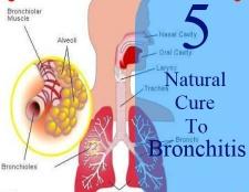 6 façons de guérir la bronchite