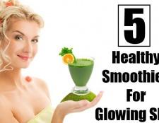 5 smoothies sains pour une peau éclatante
