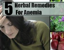 5 remèdes à base de plantes pour l'anémie