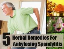 5 remèdes à base de plantes pour la spondylarthrite ankylosante