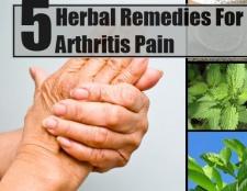 5 remèdes à base de plantes pour les douleurs de l'arthrite