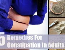 5 remèdes à base de plantes pour la constipation chez les adultes