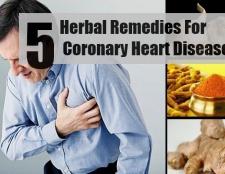 5 remèdes à base de plantes pour la maladie coronarienne
