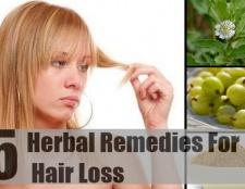 5 remèdes à base de plantes pour la perte de cheveux