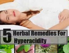 5 remèdes à base de plantes pour l'hyperacidité