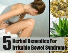 5 remèdes à base de plantes pour le syndrome du côlon irritable