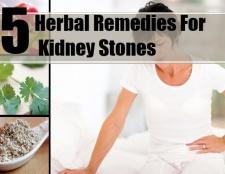 5 remèdes à base de plantes pour des calculs rénaux