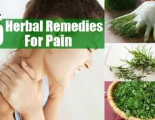 5 remèdes à base de plantes pour la douleur
