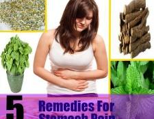 5 remèdes à base de plantes pour les douleurs d'estomac