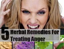 5 remèdes à base de plantes pour le traitement de la colère