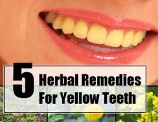 5 remèdes à base de plantes pour les dents jaunes