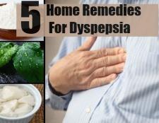 5 Accueil recours pour la dyspepsie