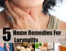 5 Accueil recours pour la laryngite