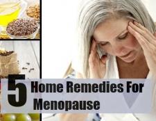 5 remèdes maison pour la ménopause