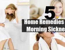 5 Accueil recours pour les nausées matinales