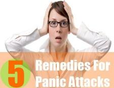5 Accueil recours pour les attaques de panique