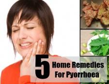 5 Accueil recours pour pyorrhée