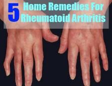 5 remèdes maison pour la polyarthrite rhumatoïde