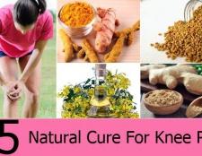 5 remède naturel pour la douleur au genou